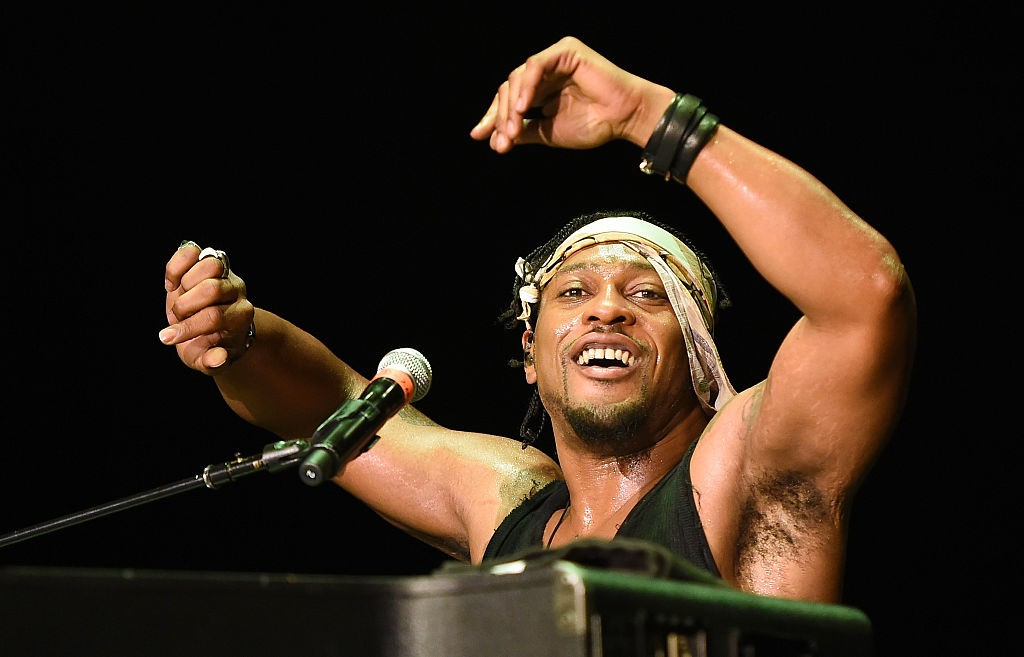 D'Angelo And The Vanguard In Concert At The Cosmopolitan Of Las Vegas