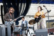 Watch My Morning Jacket's Jim James Join Angel Olsen at Newport Folk Festival
