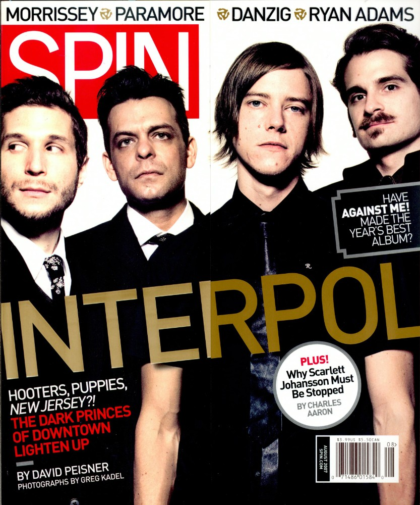 The Ties That Bind: Interpol&#8217;s <i>Our Love to Admire</i> Cover Story