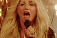 "Watch Kesha's Glittery, Celebratory Video for Her New Single ""Woman"""