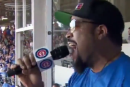 "Ice Cube Singing ""Take Me Out to the Ball Game"" Is Very Good"