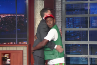 "Watch Tyler, the Creator Talk to Colbert in His Boxers, Perform ""911"""