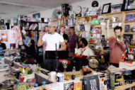 Watch Chance the Rapper Cover Stevie Wonder, Read a New Poem on NPR's Tiny Desk Concert