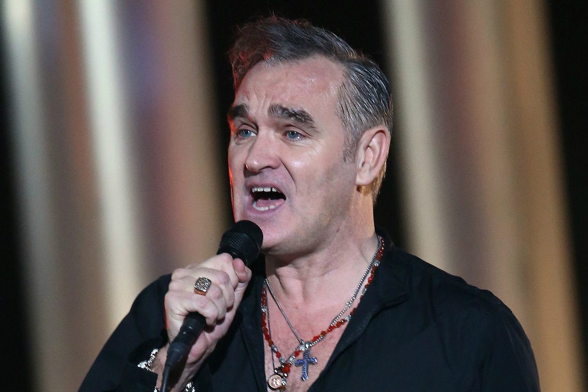 morrissey is arguing with the italian police spin