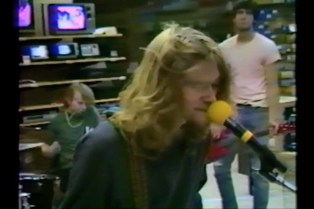 Watch Unearthed Video Of Nirvana's 1988 Radio Shack Performance