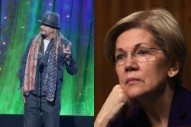 Elizabeth Warren, For One, Is Taking Kid Rock's Senate Run Seriously