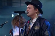 Watch Arcade Fire&#8217;s <i>Colbert</i> Performance, Complete With a Fake Infomercial