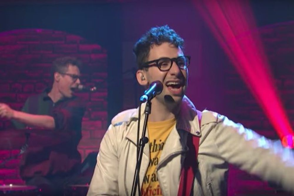 """Watch Bleachers Play """"Don't Take The Money"""" on Seth Meyers 
