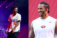 Colin Kaepernick Donated $34,000 to J. Cole's Dreamville Foundation