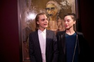 Cara Delevingne Sings About Pills on New St. Vincent Album
