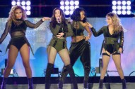 "VMAs 2017: Fifth Harmony Diss Camila Cabello During ""Down"" Performance"