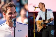 Roger Federer Likes Coldplay So Much He Saw Them Perform Twice in a Row