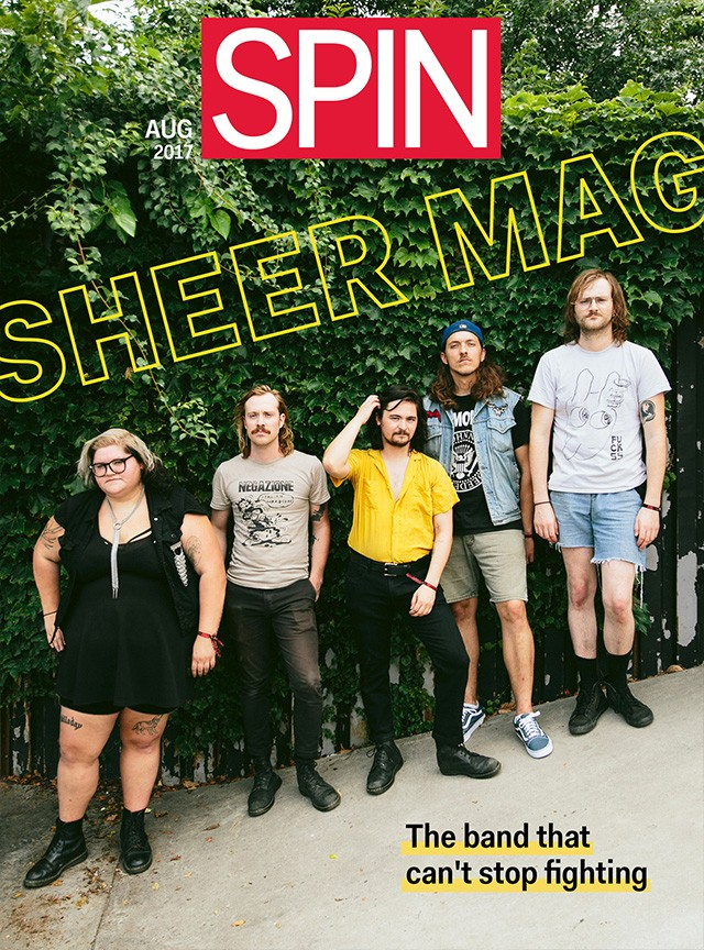 SPIN Sheer Mag Cover August 2017