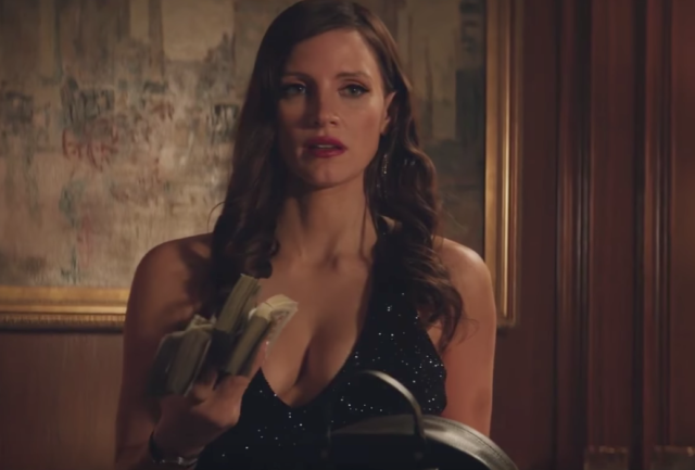 Jessica Chastain plays Poker mogul Molly Bloom in