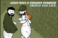 Stream Aesop Rock and Homeboy Sandman's New EP <em>Triple Fat Lice</em>