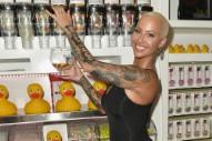 Amber Rose Changed Her Wiz Khalifa Tattoo to Resemble Slash