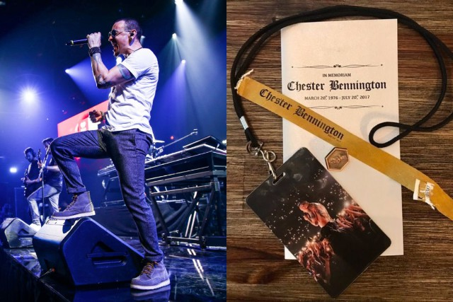 Chester Bennington Memorial Memorabilia Pulled From eBay