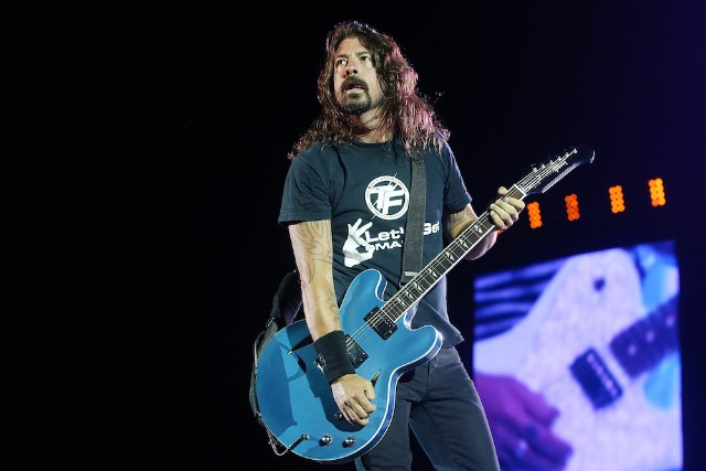 Foo Fighters Perform Live In Brisbane