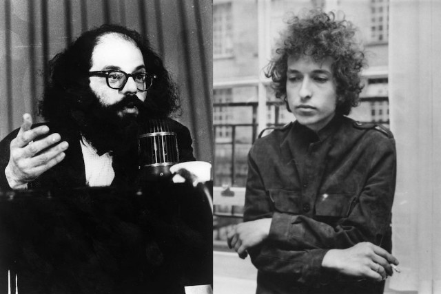 unheard bob dylan show recordings made by allen ginsberg just