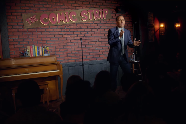Jerry Seinfeld's Netflix Special Releases First Trailer   SPIN