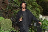 Joey Bada$$ Stares at the Eclipse, Cancels Shows
