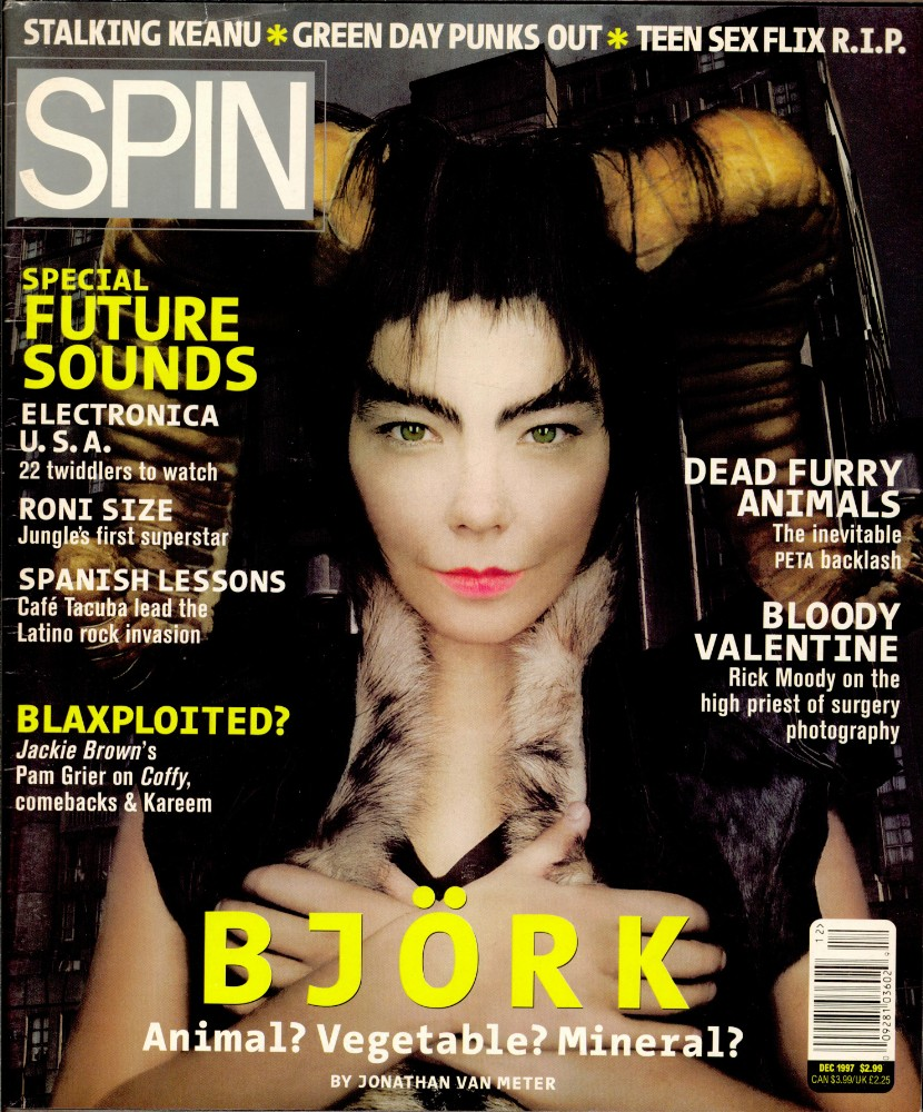 Björk&#8217;s December 1997 <i>Homogenic</i> Cover Story: The Outer Limits