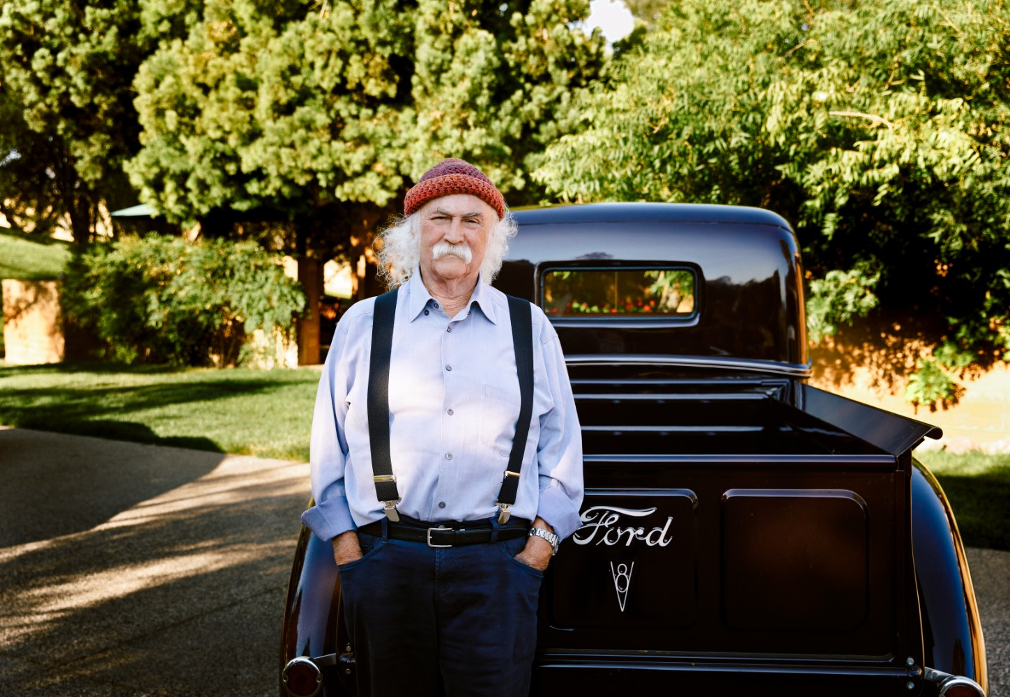 David Crosby Is Making More Noise Than Ever