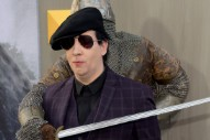 "Marilyn Manson Flicks Interviewer in the Dick, Says ""Columbine Destroyed My Career"" in New Interview"