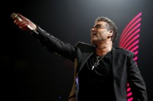 George Michael Kicks Off His