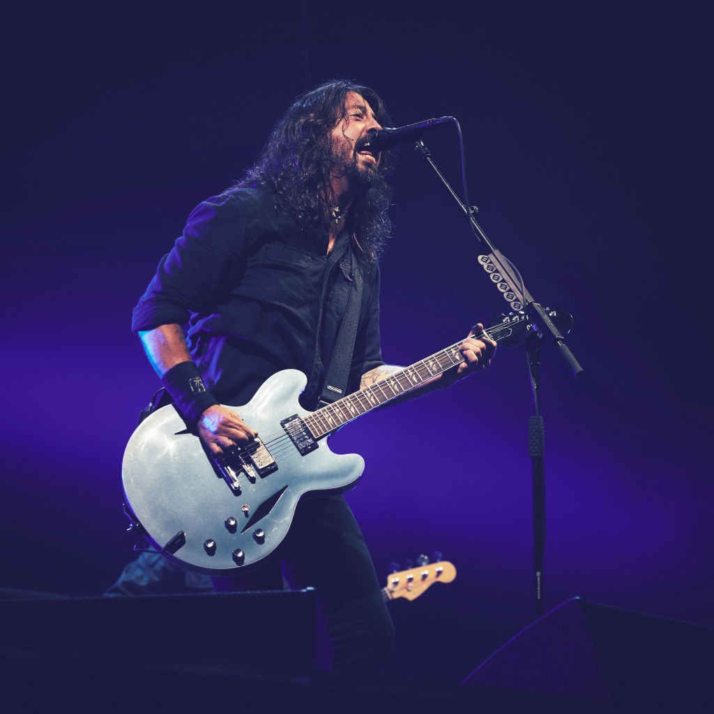 Stream Foo Fighters New Album Concrete And Gold Spin
