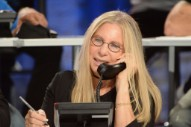 "Report: Barbra Streisand Asked to Be Photographed on Her ""Good Side"" at Hurricane Telethon"