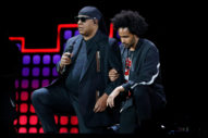 Watch Stevie Wonder Take a Knee in Solidarity with Colin Kaepernick