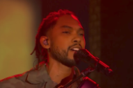 Watch Miguel Perform &#8220;Sky Walker&#8221; and &#8220;Come Through and Chill&#8221; on <i>Colbert</i>