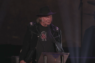 Watch Neil Young's Acceptance Speech For The Canadian Songwriters Hall Of Fame