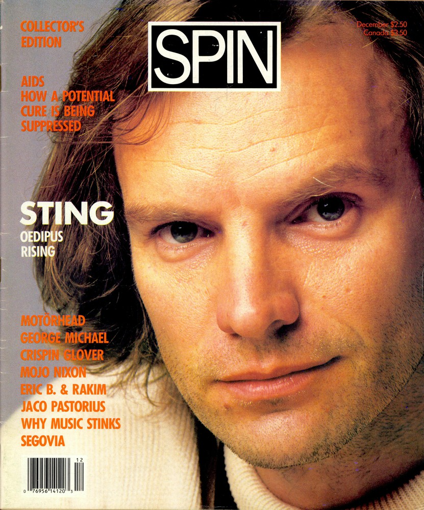 Sting&#8217;s November 1987 <i>Nothing Like the Sun</i> Cover Story: Invisible Son