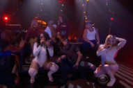 Watch Fifth Harmony Perform &#8220;He Like That,&#8221; Get Pelted With Fruit on <i>Corden</i>