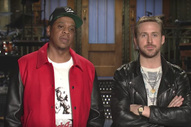 Watch Jay-Z's <i>Saturday Night Live</i> Promos With Ryan Gosling