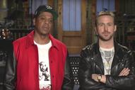 Watch Jay-Z's <i>Saturday Night Live</i> Promos With Ryan Gosling