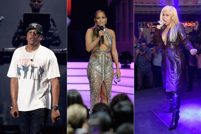 Jay-Z, Cardi B, Chris Brown, Jennifer Lopez, and More to