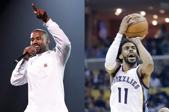 detailed look 96d18 5c084 Kanye West Called NBA Player Mike Conley Out of the Blue to ...