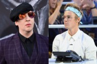 "Marilyn Manson Thinks Justin Bieber Is ""a Piece of Shit"""