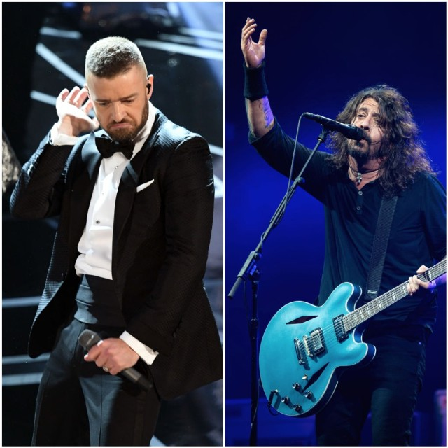 Yep, Justin Timberlake Sings On The New Foo Fighters Album