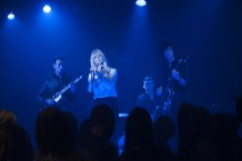 The Chromatics in a still from Twin Peaks. Photo: Suzanne Tenner/SHOWTIME