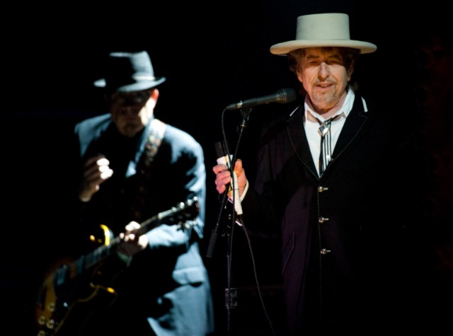 Bob Dylan Performs At London Feis Festival