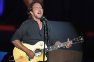 Watch Eddie Vedder Cover Warren Zevon at David Letterman's Mark Twain Prize Ceremony