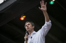 Democratic Challenger To Ted Cruz's Seat Texan Congressman Beto O'Rourke Holds Campaign Events In Austin