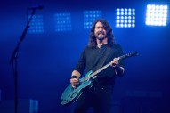 Dave Grohl Gives Shoe to Fan on Crutches