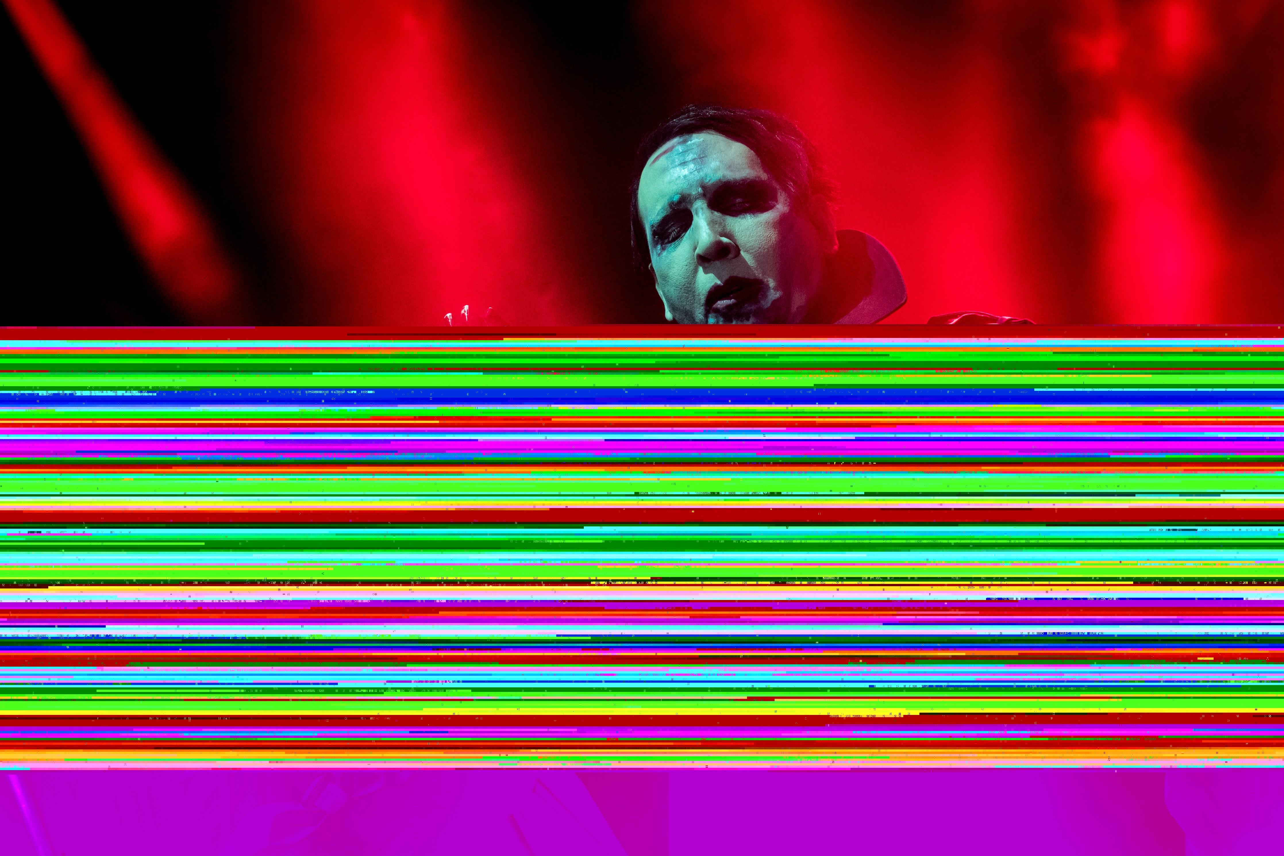 Marilyn Manson Performs In Verona