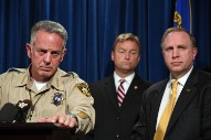 Las Vegas Shooting: Police Now Say Gunman Shot Security Guard Before Start of Massacre