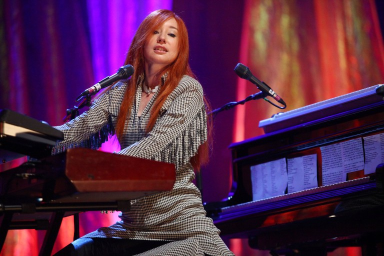 Tori Amos Soundcheck At Radio City Music Hall